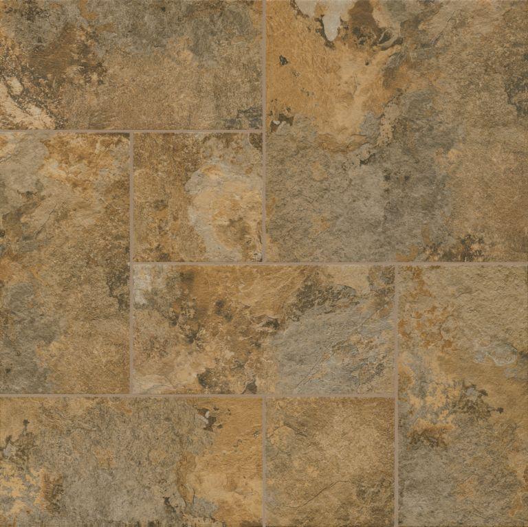 Brown And Slate Blue Living Room: Huntington Slate - Brown Clay