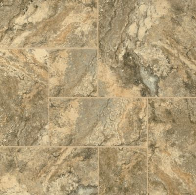Genova Travertine - Burnished Gold Luxury Vinyl 8P167