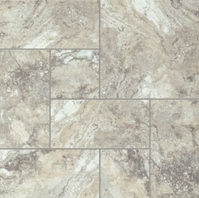 Genova Travertine - Nickel Vinilo de Lujo 8P168