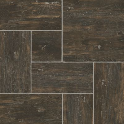Grain Directions - Tobacco Etch Luxury Vinyl D4370