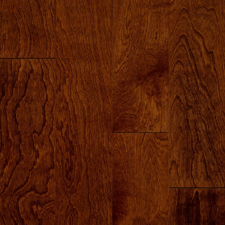 Yellow Birch - Glazed Rust Red Hardwood E3317