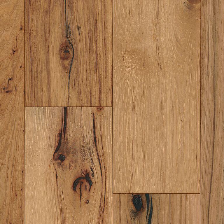 Hickory - Deep Etched Natural Hardwood EAHTB75L401