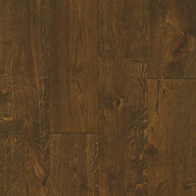 White Oak - Deep Etched Hampton Brown Hardwood EAKTB75L408
