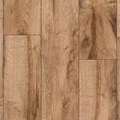 Rustic Oak Timber - Natural Vinyl Sheet G2130