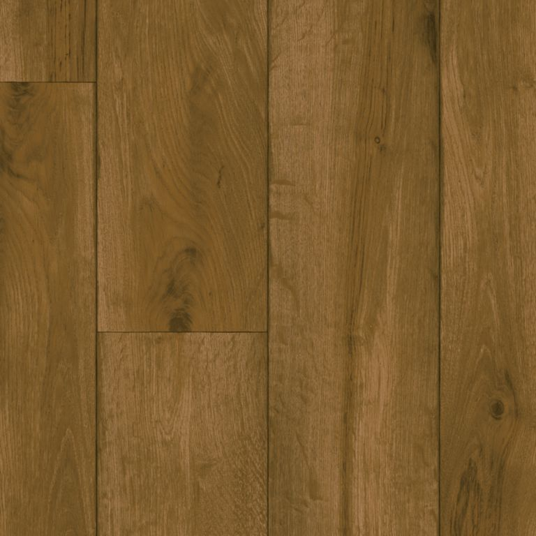 Rustic Oak Timber - Chestnut Brown Lámina de vinil G2131