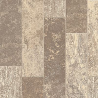 Aragon Travertine - Beach Cove Vinyl Sheet B6347