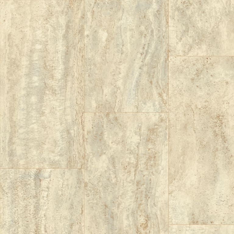 Vessa Travertine - Husky Street Vinyl Sheet X4670