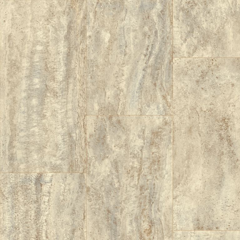 Vessa Travertine - Malted Emblem Vinyl Sheet X4671