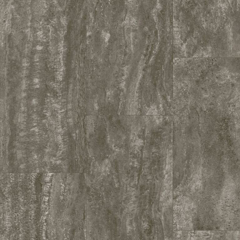 Vessa Travertine - Spent Grindstone Vinyl Sheet G2384