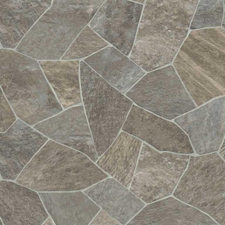 Broken Stone - Natural Vinyl Sheet G3A37