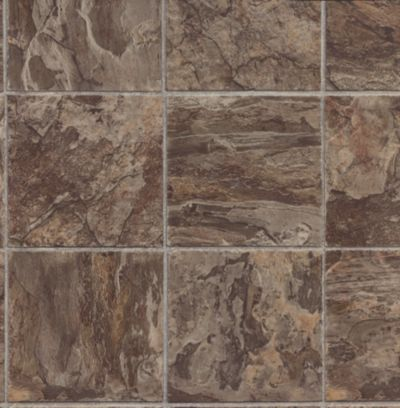 River Slate - Warm Stone Vinyl Sheet G4A00