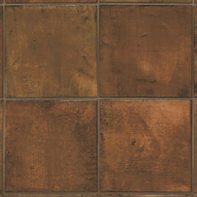 Spanish Saltillo - Redware Vinyl Sheet B6082