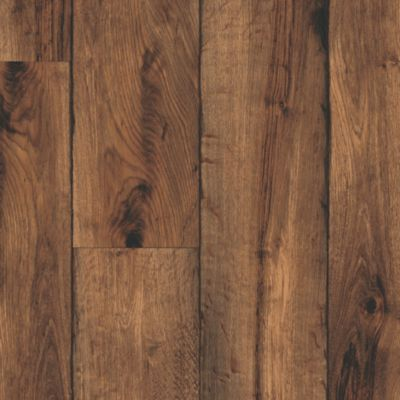 Rustic Timbers - Brown Vinyl Sheet B6103