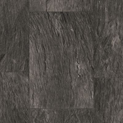 Slate Block - Black Vinyl Sheet G4A11