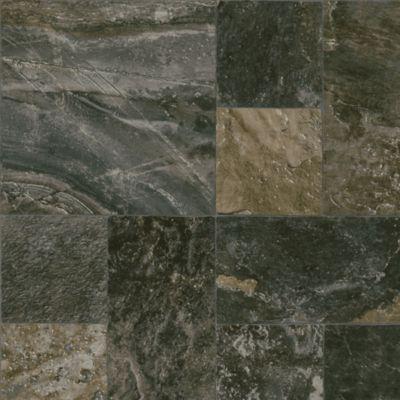 Eagle Rock Slate - Chimney Ash Vinyl Sheet B6131