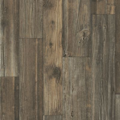 Deep Creek Timbers - Rustic Hearth Vinyl Sheet B6012