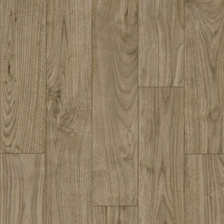 Warrington Walnut - Mulberry Grey Vinyl Sheet 66326