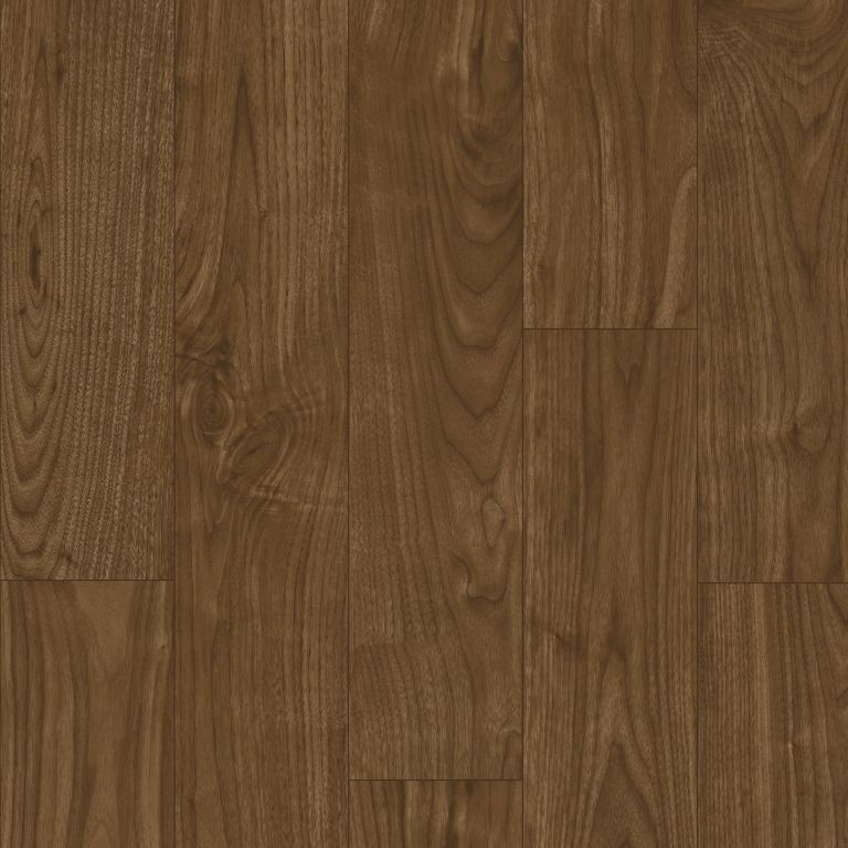Warrington Walnut - Red Bourbon Vinyl Sheet X7537