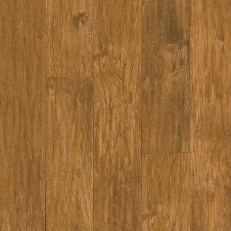 Woodland Hickory - Scraped Golden Laminate L6639