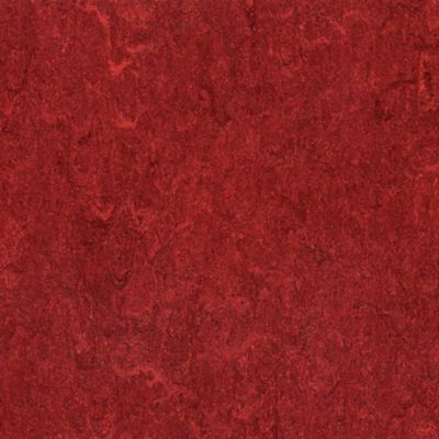 Marmorette - Cherry Red Linoleum LS018