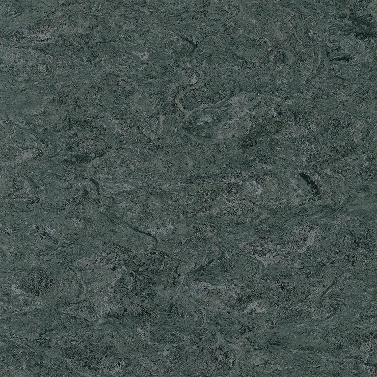Marmorette - Charcoal Gray Linóleo LS059