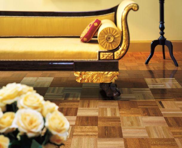 Tawny Spice Oak Parquet Flooring 151170