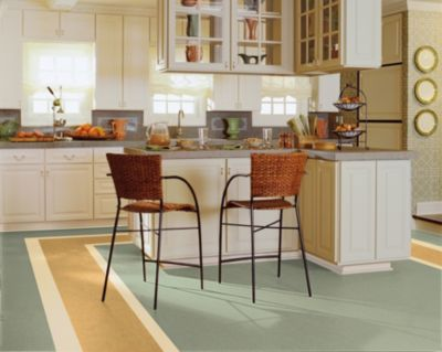 Delightful These Days, Linoleum Floors Have A Whole New Image: Colorful, Fashionable  And Environmentally Friendly. Armstrong Linoleum Flooring Is Available In  Wide ...