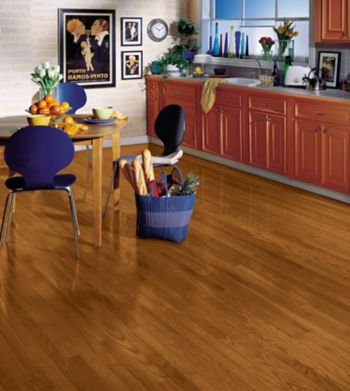 red oak hardwood flooring - copper : c211bruce flooring