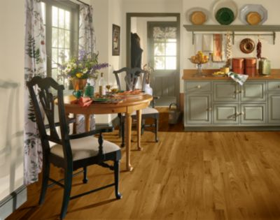 Hickory Hardwood Flooring Brown C4717 By Bruce Flooring