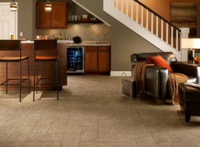 Basement Flooring from Armstrong Flooring