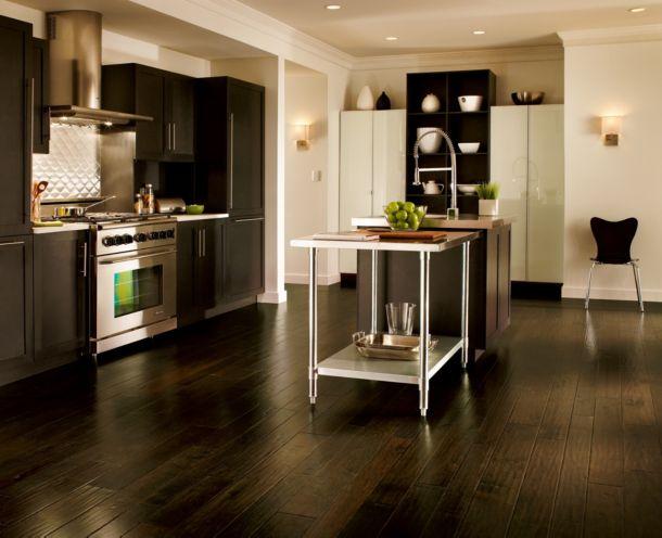 Artesian Brunet dark wood flooring - EMW6305