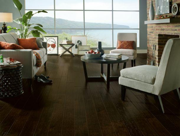 hardwood floor installation of Northern Maple – ERH5308