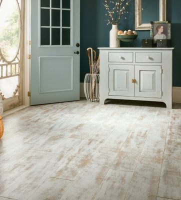 Antique Structure - White Laminate Flooring