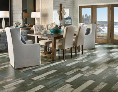 Awesome Antique Structure   Milk Paint Laminate Flooring