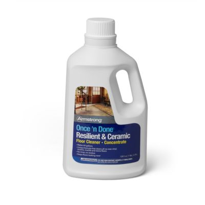 Armstrong Once U0027n Done No Rinse Floor Cleaner Concentrate