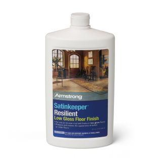 Armstrong Satinkeeper Resilient Low Gloss Floor Finish - S-385