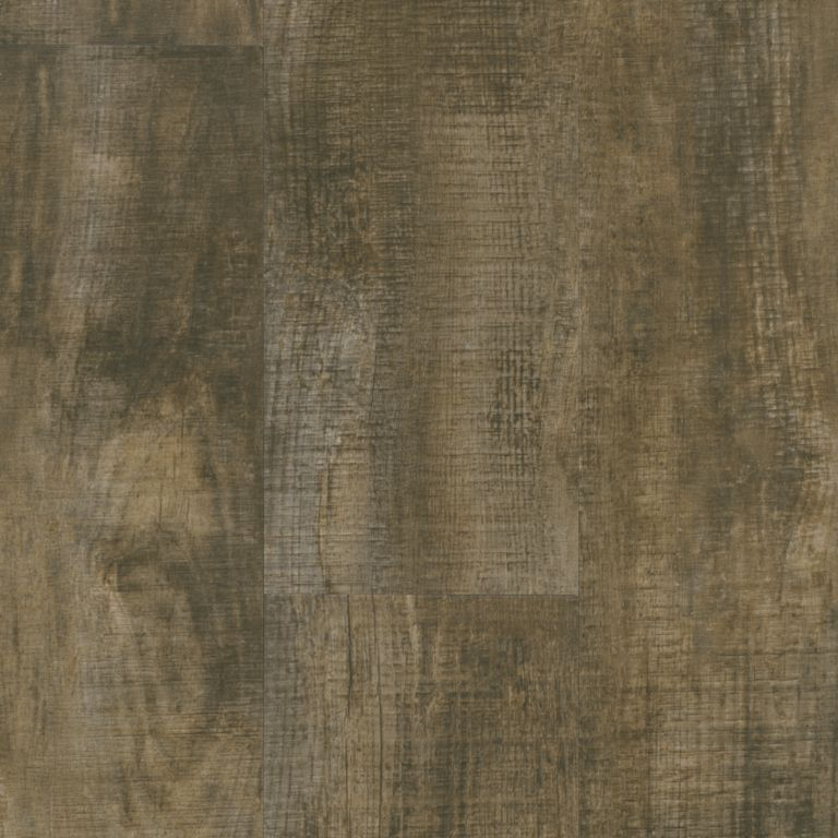 Homespun Harmony - Rugged Brown Luxury Vinyl U1042