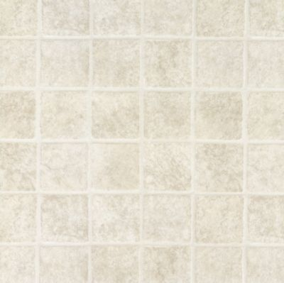 French Paver - White Vinyl Sheet X2515