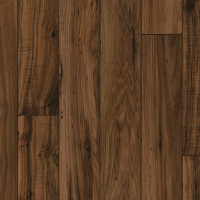 Distressed Hickory - Walnut Vinyl Sheet X3543