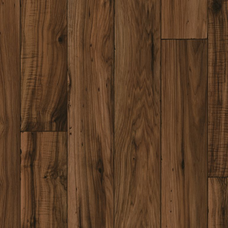 Distressed Hickory - Walnut Lámina de vinil X7522